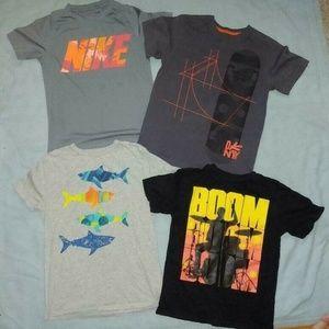4 Boys Short Sleeved T-Shirts 8-12